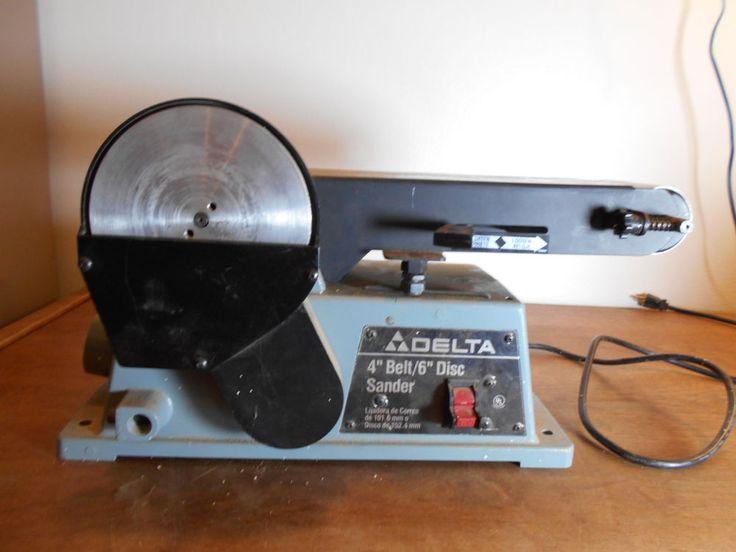 delta 4 belt 6 disc sander manual