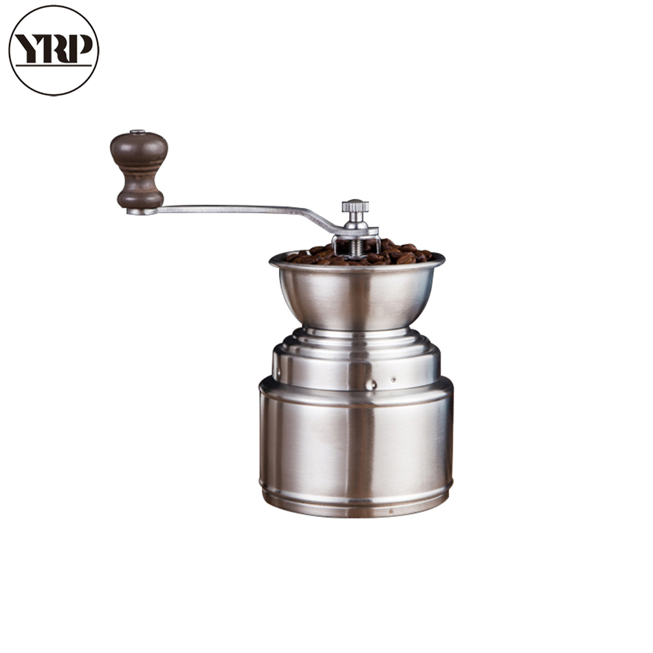 how to adjust manual coffee grinder