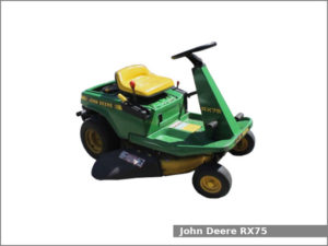john deere rx75 riding mower manual