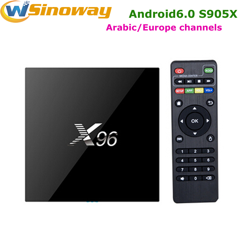 x96 smart tv box manual