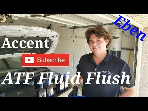hyundai accent manual transmission fluid change