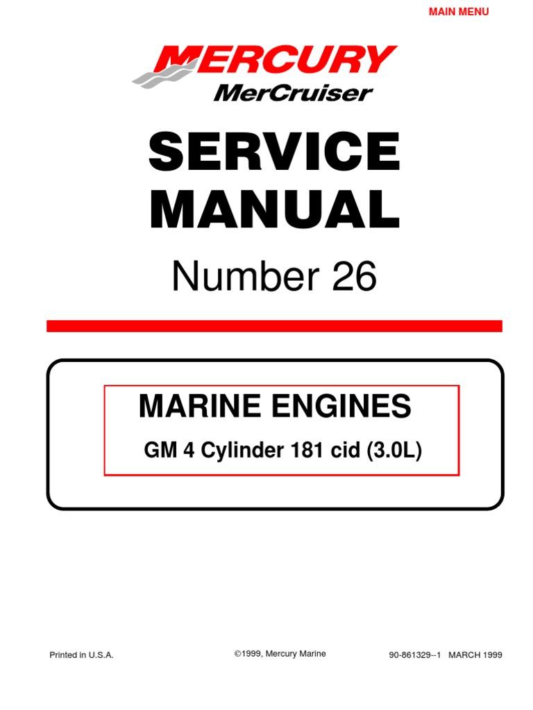 1990 mercruiser 4.3 service manual