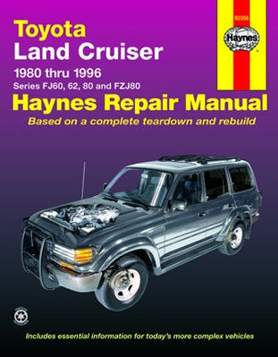 1997 toyota land cruiser owners manual