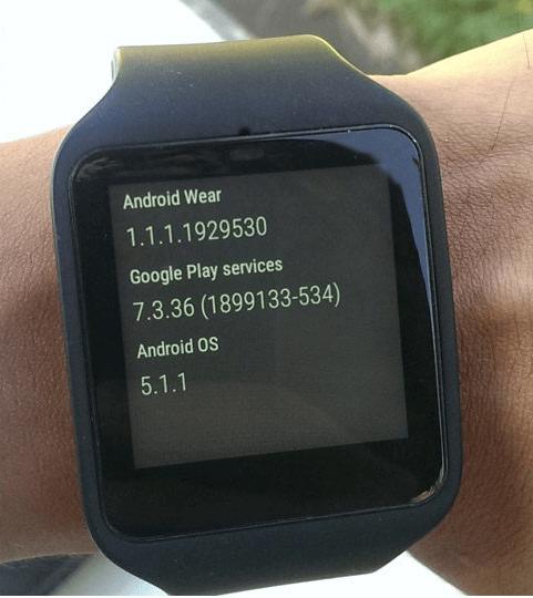 update sony smartwatch 3 manually