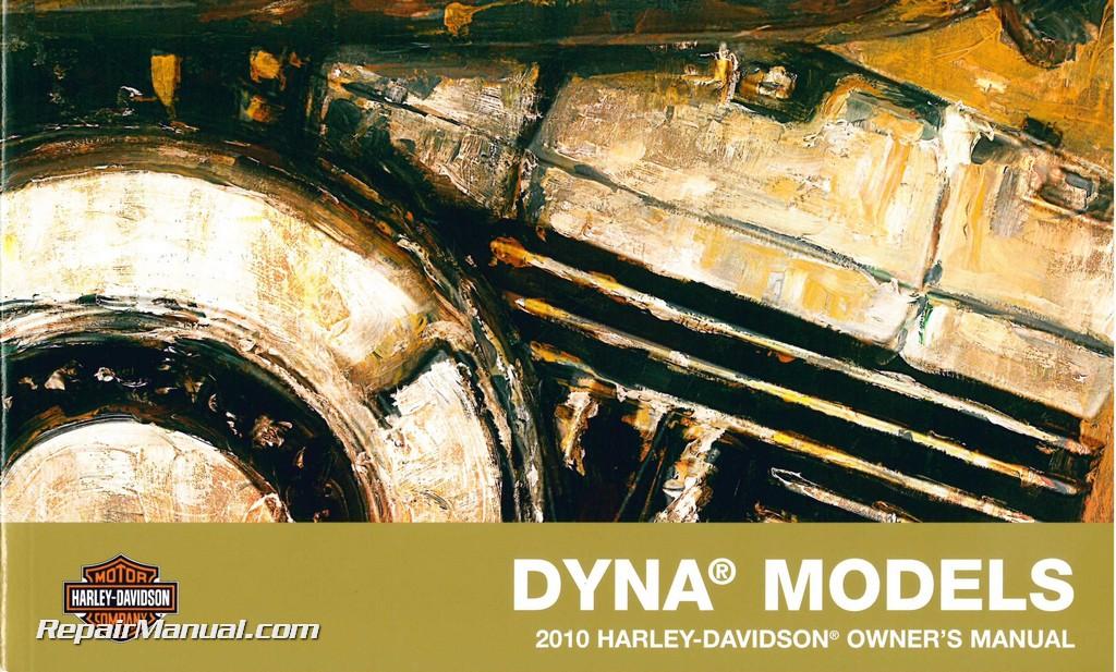 2010 harley davidson dyna service manual