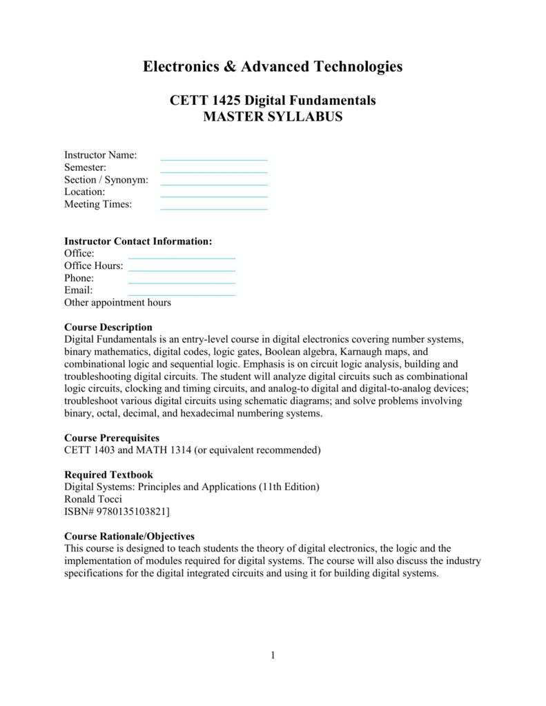 digital fundamentals floyd 10th edition solution manual pdf