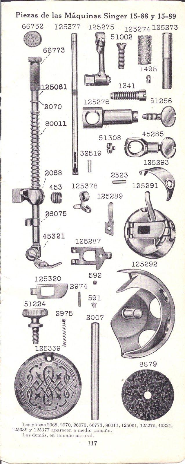 1940 singer sewing machine manual