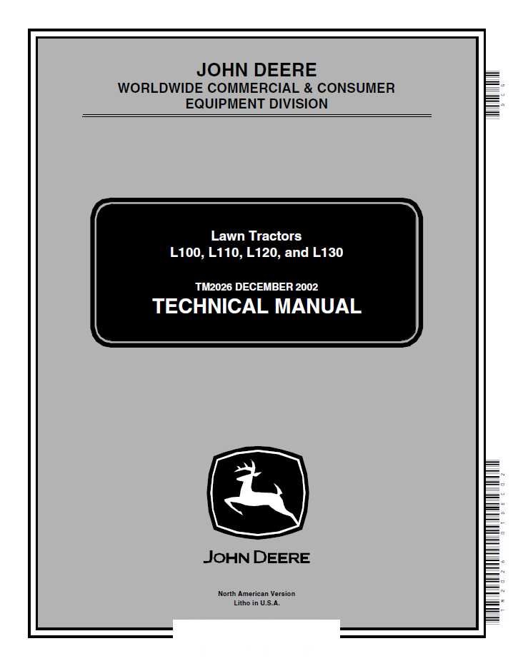 john deere 1435 owners manual