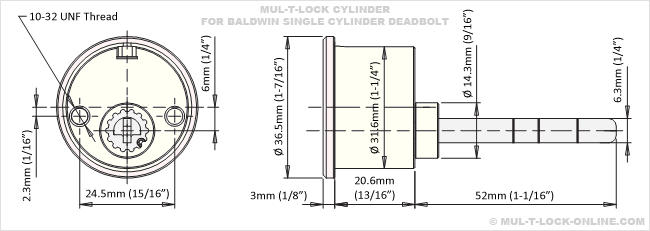 mul t lock installation manual