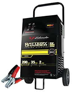 schumacher 15 amp battery charger manual