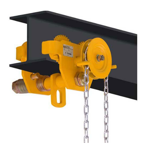 manual chain pulley block with trolley