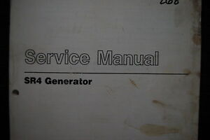 caterpillar sr4 generator service manual pdf