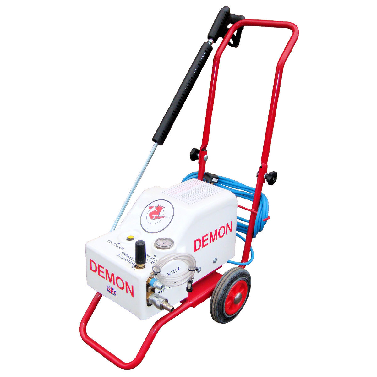 power it electric pressure washer manual
