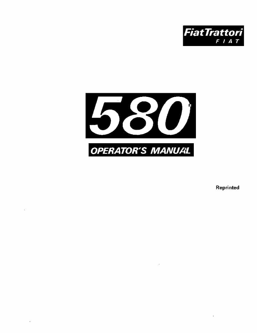 fiat 450 tractor workshop manual
