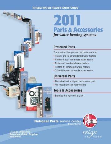 rheem solar water heater manual