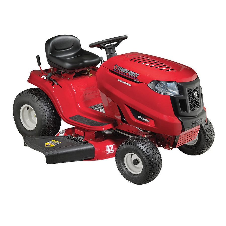 troy bilt lawn tractor manual