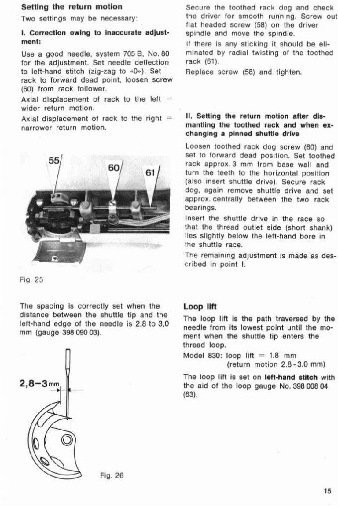 bernina sewing machine repair manual
