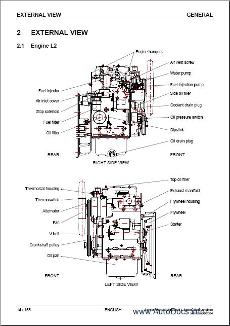 mitsubishi 6g74 engine workshop manual