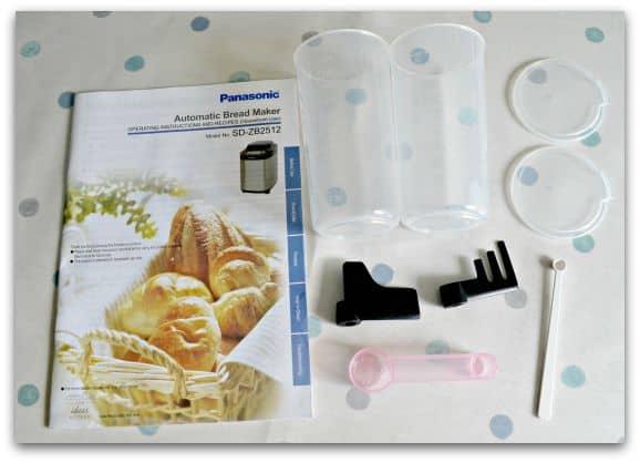 panasonic sd 251 bread maker manual