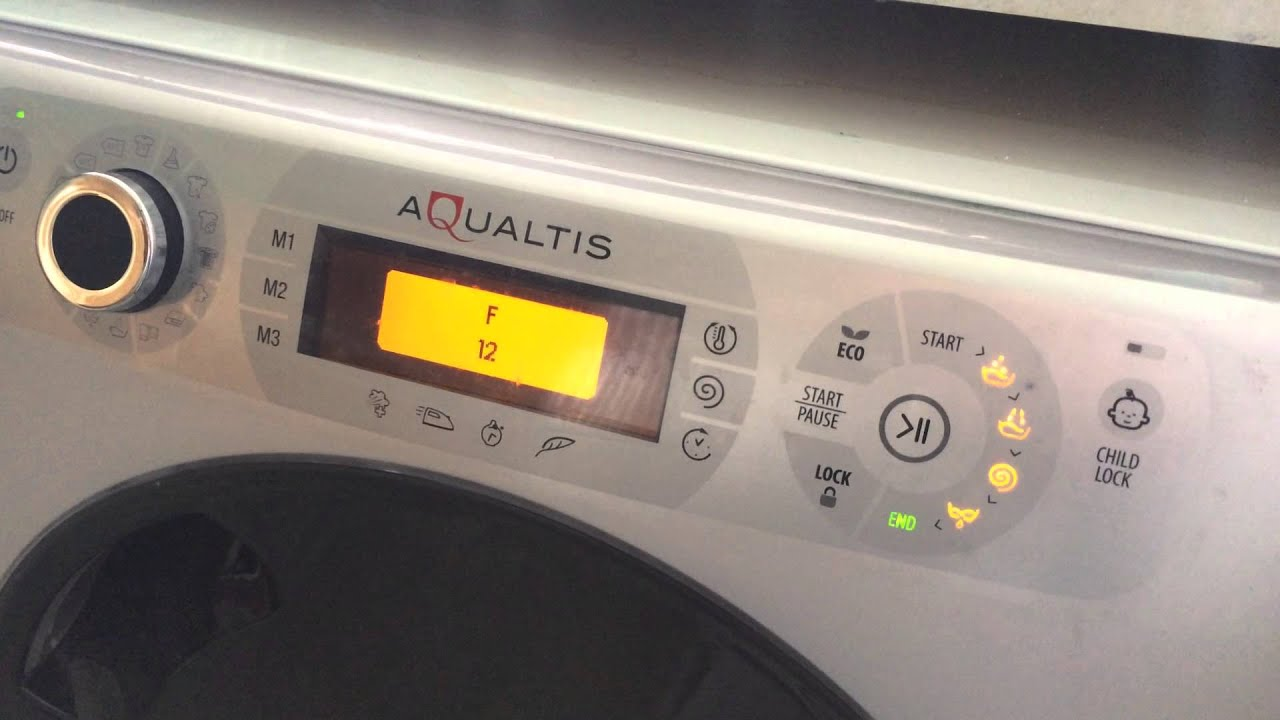 hotpoint ariston washing machine manual