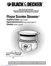 black and decker flavor scenter steamer manual