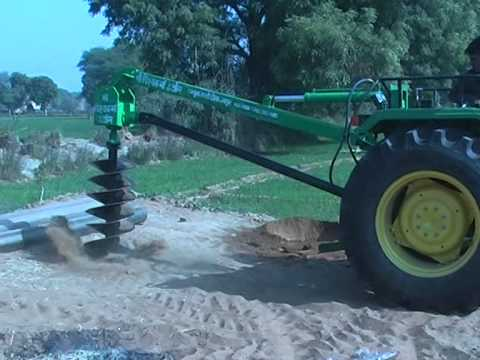 john deere post hole digger manual