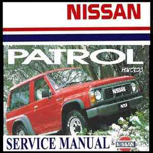 nissan td42 workshop manual pdf