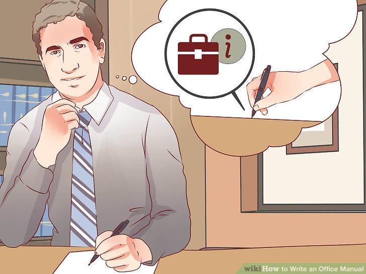 how to write a manual