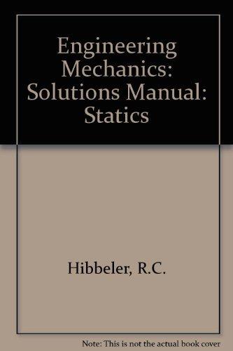 engineering mechanics statics 14th edition solution manual pdf