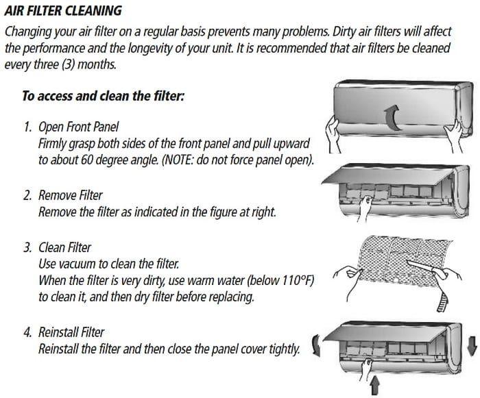 gree split type air conditioner manual