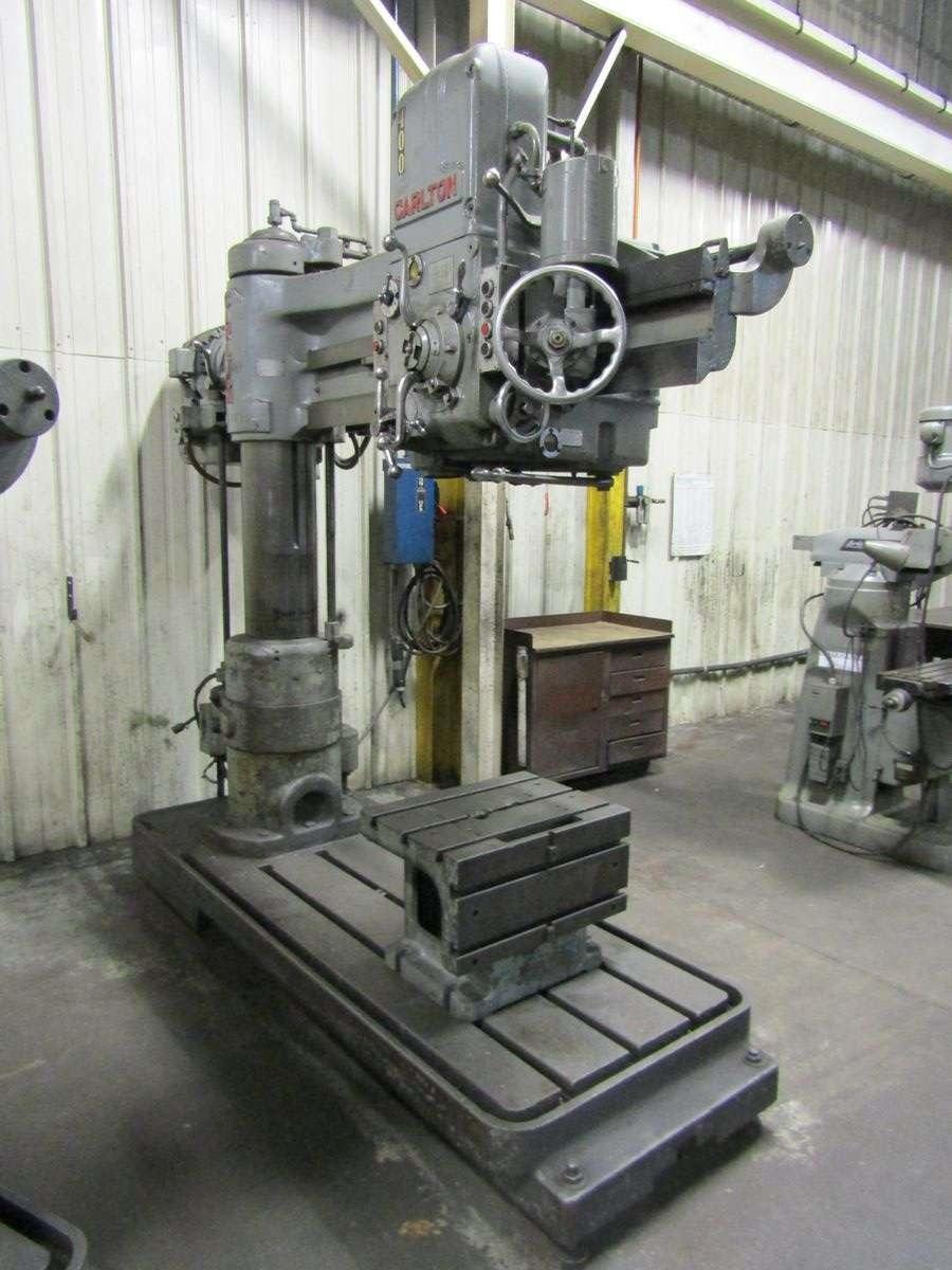 carlton radial arm drill manual