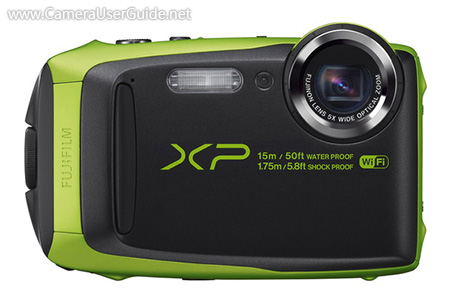 fujifilm xp90 waterproof camera manual