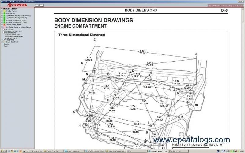 toyota echo 2004 service manual