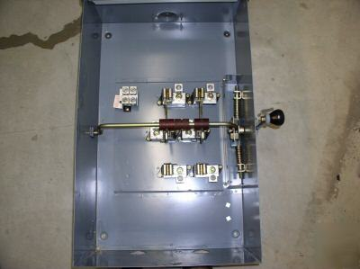 200 amp manual generator transfer switch