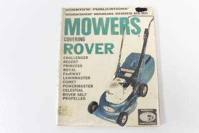 rover 880 lawn mower manual