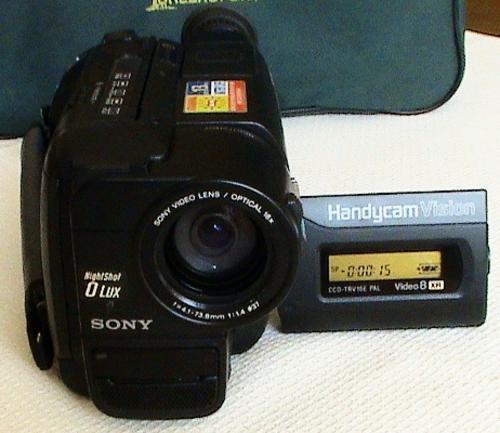 sony handycam video 8 xr manual