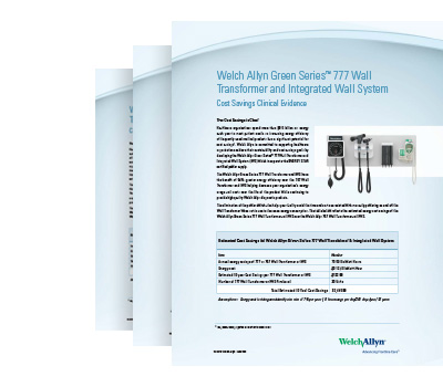 welch allyn 767 wall transformer service manual