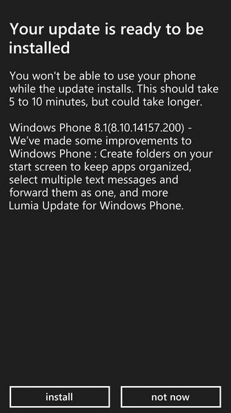 download windows phone 8.1 manually