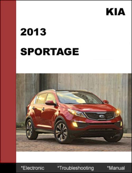kia sportage 2013 service manual