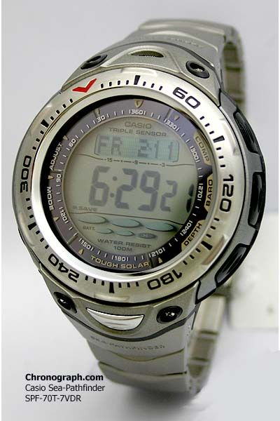 casio sea pathfinder spf 70 manual