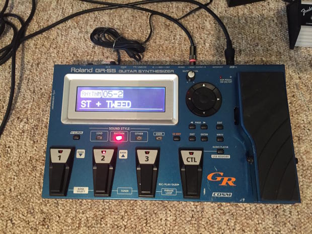 roland gr 55 guitar synthesizer manual