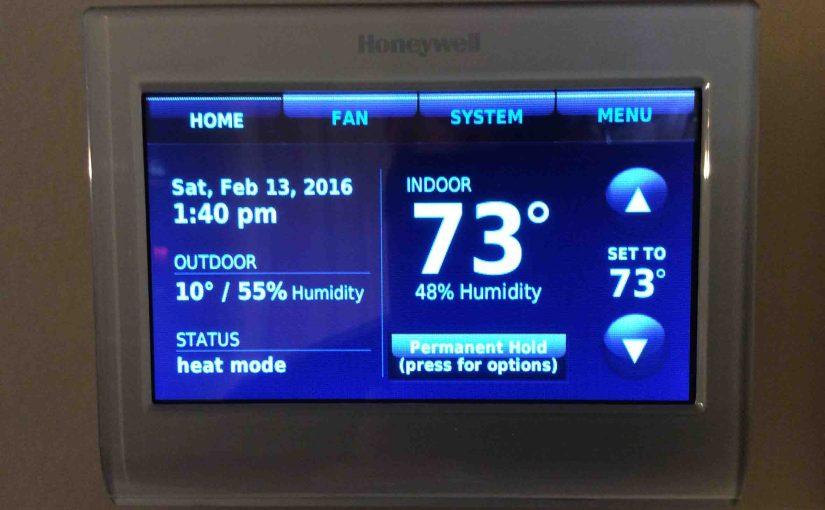 honeywell wifi smart thermostat manual