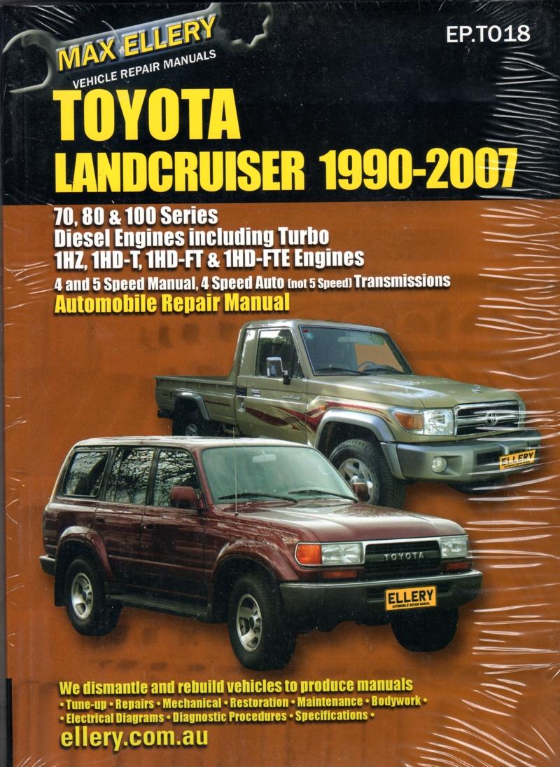 100 series landcruiser workshop manual free