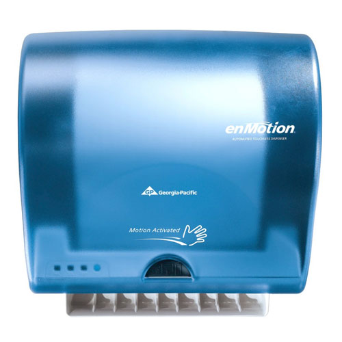 georgia pacific enmotion paper towel dispenser manual
