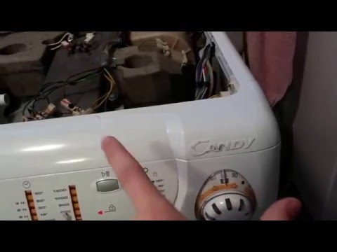 candy alise washer dryer manual