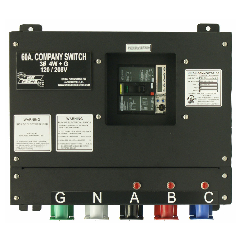 60 amp manual transfer switch