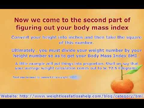 how to find your bmi manually