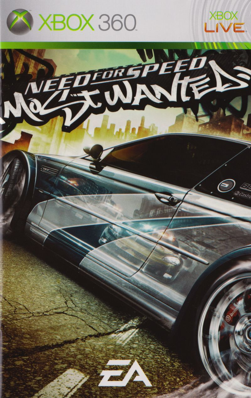 need for speed most wanted instruction manual
