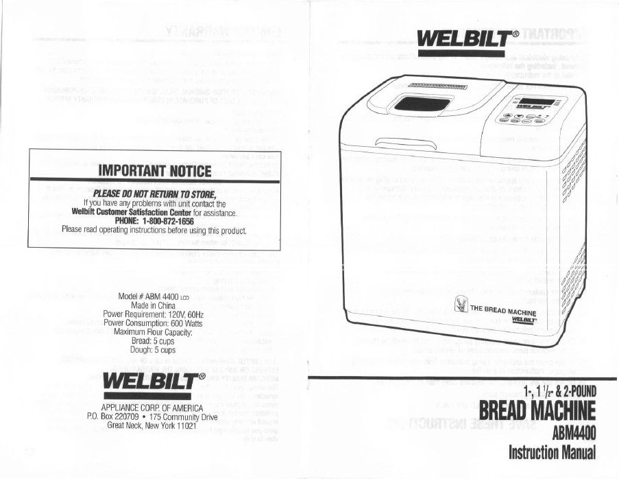 westpoint washing machine instruction manual
