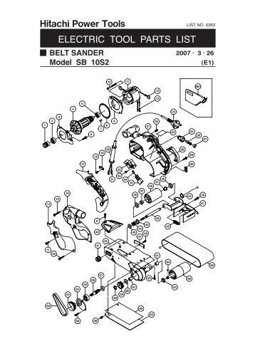 hitachi power tools manuals online